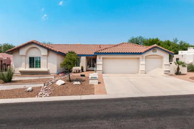 Oro Valley Single Family Home Active Contingent: 10637 N Thunder Hill Place