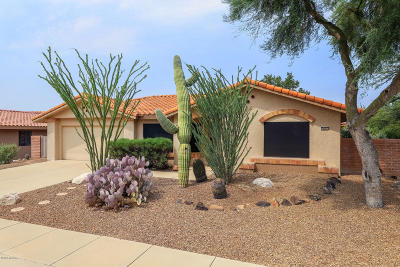 Oro Valley Single Family Home Active Contingent: 14385 N Coyote Canyon Lane