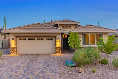 Marana Single Family Home Active Contingent: 7225 W Falcon View Pass