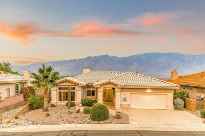 Oro Valley Single Family Home Active Contingent: 14730 N Desert Rock Drive