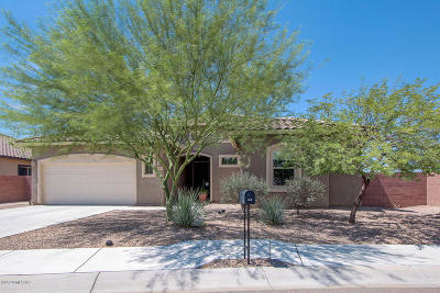 Marana Single Family Home Active Contingent: 5525 W Bajada Drive