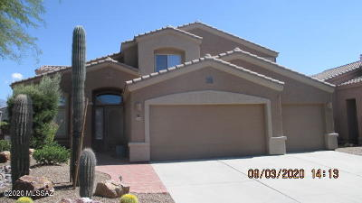 Oro Valley Single Family Home Active Contingent: 305 W Sacaton Canyon Drive