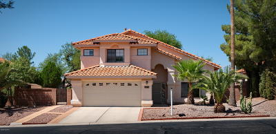 Oro Valley Single Family Home For Sale: 10271 N Oak Knoll Lane