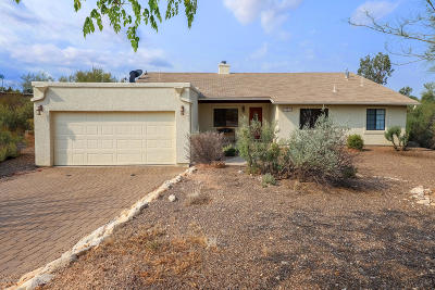 Tucson Single Family Home For Sale: 12480 E Los Reales Road