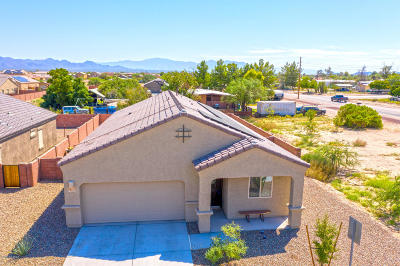 Marana Single Family Home Active Contingent: 12451 W Reyher Farms Loop