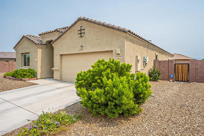 Marana Single Family Home Active Contingent: 12876 N Cutri Court
