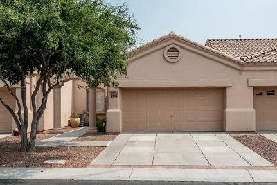 Oro Valley Townhouse For Sale: 13401 N Rancho Vistoso Boulevard #106