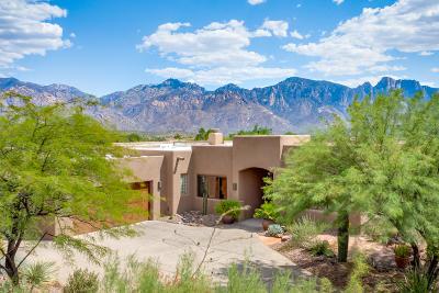 Oro Valley Single Family Home Active Contingent: 13704 N Placita Meseta De Oro