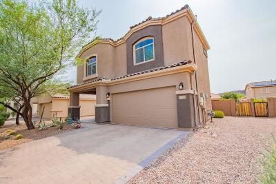 Marana Single Family Home Active Contingent: 8767 W Saguaro Moon Road