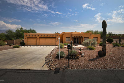 Tucson Single Family Home Active Contingent: 4475 W Sunset Dunes Place