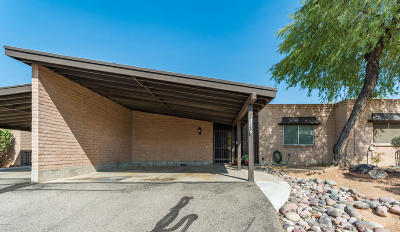 Oro Valley Townhouse Active Contingent: 8126 N Gibraltar Drive