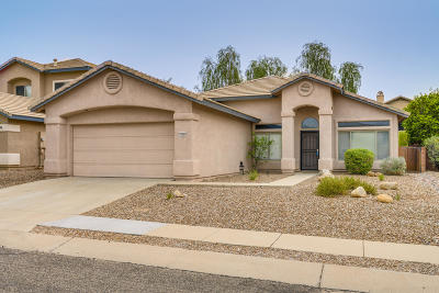 Oro Valley Single Family Home Active Contingent: 11044 N Eagle Crest Drive