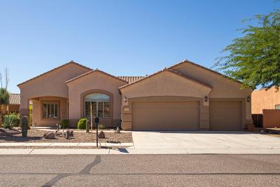 Marana Single Family Home Active Contingent: 4733 Cactus Bluff Drive