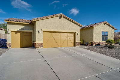 Tucson Single Family Home Active Contingent: 6027 W Yuma Mine Circle