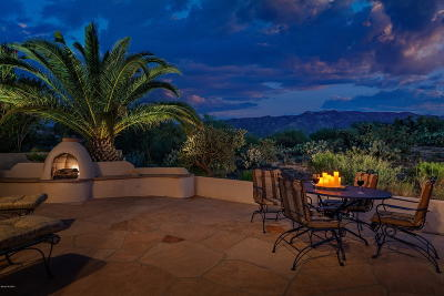 Tucson Single Family Home Active Contingent: 38027 S Desert Highland Drive
