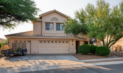 Oro Valley Single Family Home Active Contingent: 12497 N Copper Queen Way