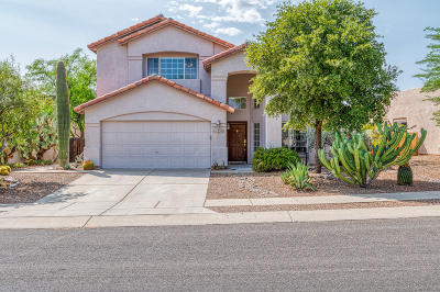 Oro Valley Single Family Home Active Contingent: 12285 N Brightridge Drive