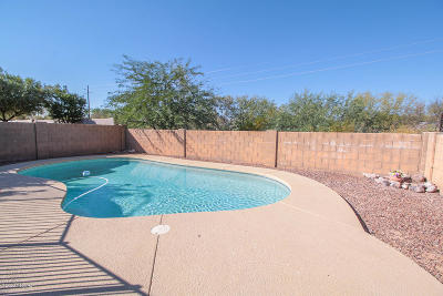 Tucson Single Family Home Active Contingent: 1230 W Crystal Palace Place