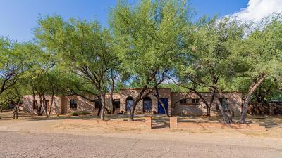 Tucson Single Family Home Active Contingent: 7741 E Camino Montaraz