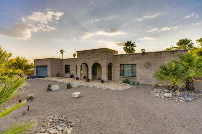 Tucson Single Family Home Active Contingent: 3635 N Allwood Place