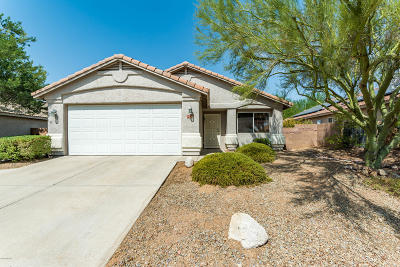 Marana Single Family Home Active Contingent: 5526 W Durham Hills Street