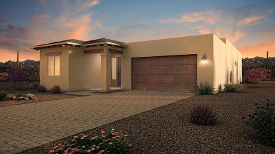 Tucson Single Family Home Active Contingent: 6374 N Alani Blossom Court