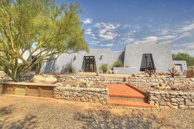Tucson Single Family Home Active Contingent: 4025 N Camino De Lupo