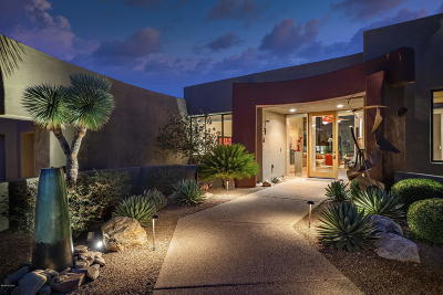 Oro Valley Single Family Home Active Contingent: 592 W Silhouette Ridge Place