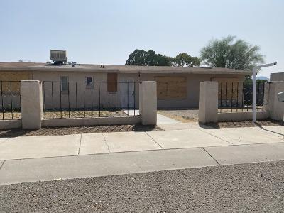Tucson Single Family Home For Sale: 801 W Kelso Street