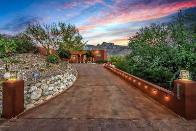 Oro Valley Single Family Home Active Contingent: 11365 N Skywire Way