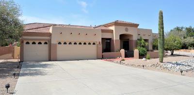 Tucson Single Family Home Active Contingent: 7805 N Via Atascadero