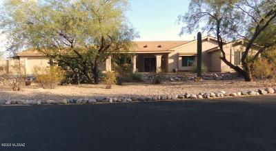 Tucson Single Family Home Active Contingent: 4082 N Hidden Cove Place