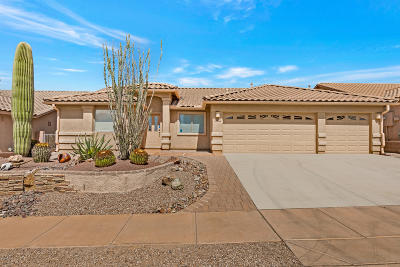 Sahuarita Single Family Home For Sale: 1085 E Stronghold Canyon Lane
