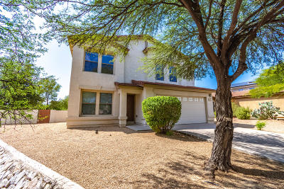 Oro Valley Single Family Home Active Contingent: 12837 N Desert Olive Drive