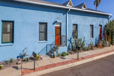 Tucson Townhouse For Sale: 422 N Court Avenue