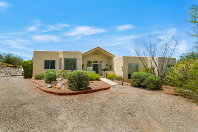 Tucson Single Family Home Active Contingent: 1020 E Silvertree Drive
