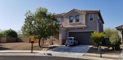 Tucson Single Family Home Active Contingent: 5196 E Arguedas Way