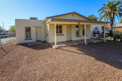 Tucson Single Family Home For Sale: 244 E 24th Street