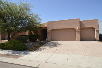 Tucson Single Family Home For Sale: 3882 S Camino Sierra Pantano