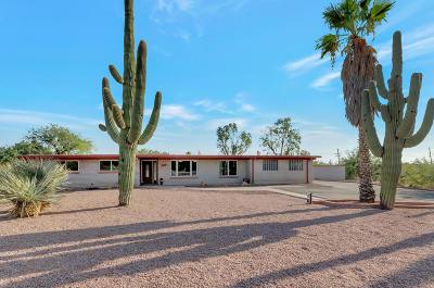 Tucson Single Family Home For Sale: 11312 E Comanchero Circle