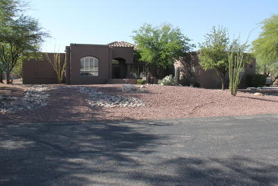 Tucson Single Family Home For Sale: 8882 E Bear Paw Place