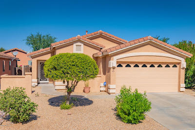 Oro Valley Single Family Home Active Contingent: 2301 E Ram Rock Road