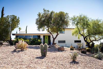 Tucson Single Family Home Active Contingent: 7300 E Camino De Cima
