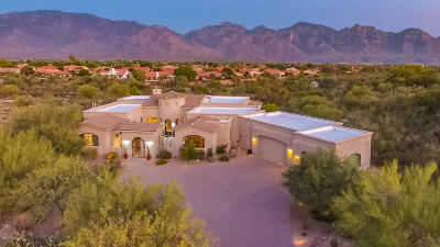 Oro Valley Single Family Home For Sale: 14636 N Quiet Rain Drive
