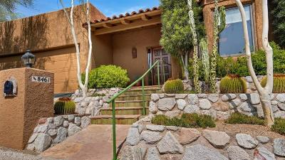 Tucson Single Family Home For Sale: 8461 E Desert View Place