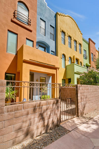 Tucson Townhouse For Sale: 2446 E Blue Diamond Drive