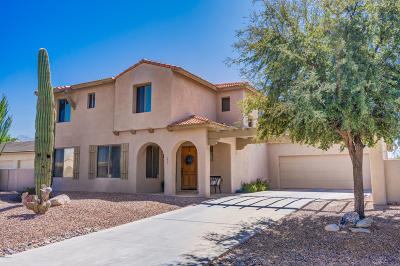Oro Valley Single Family Home For Sale: 527 W Woodlawn Drive