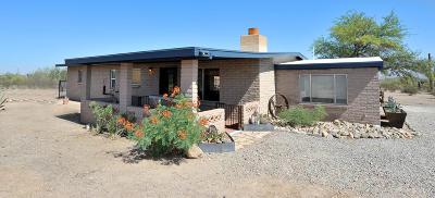 Tucson Single Family Home Active Contingent: 5700 W Vereda Del Coyotito