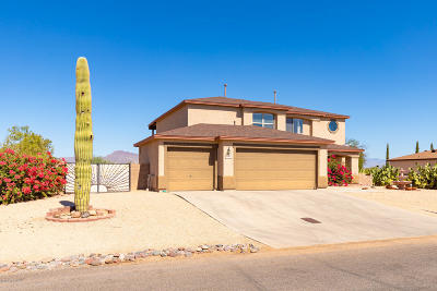 Tucson Single Family Home Active Contingent: 7058 W Pebble Valley Drive