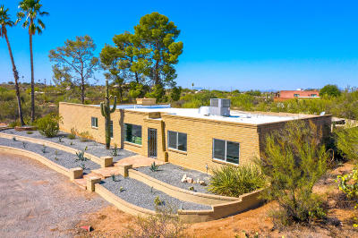 Tucson Single Family Home Active Contingent: 11430 E Old Spanish Trail